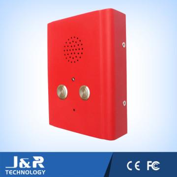 Deux boutons d'ascenseur d'urgence interphone, ascenseur interphone, téléphone ascenseur d'urgence