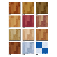 plastic flooring look like wood