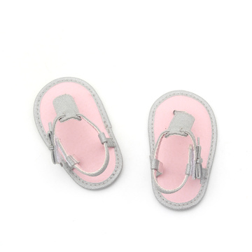 2018 Fesyen Barefoot Shoes Handmade Baby Soft Sandals