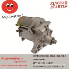 Starter Motor for Honda Accord & Honda Prelude (16906)