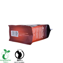 Heat Seal Flat Biodegradable And Compostable Bag Supplier di China