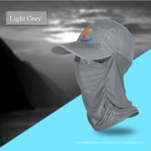 Outdoor Quick Drying Round Sun Helmet Breathable Mesh Mask Bonnie Hats Folding Cap Sunbonnet UV Protection Summer Hat