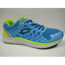 Bright Color Blue Outdoor Gym Shoes Jogging Footwear