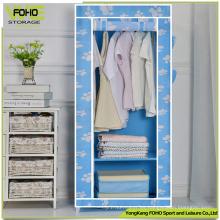 Armario plegable de armario Armario moderno y barato de dormitorio pequeño