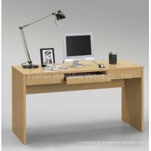 Design de mesa de computador simples e reto para casa (HF-D007)