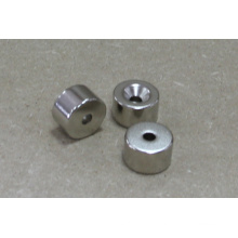 Cuntersunk Magnet Permanent NdFeB Zylinder