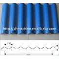 Máquina perfiladora de perfil Trapezoidal de Full Auto y hoja del material para techos de azulejo acanalado