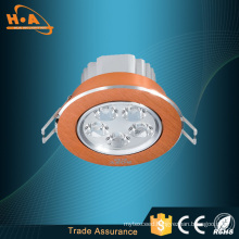 Commercial 7W Warm White Round LED Ceiling Light