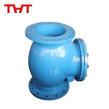 Low pressure simple vertical swing check valve water line