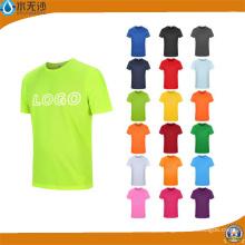 China Fabrica Projete Seu Próprio Logotipo Homens De Algodão T-Shirts De Impressão Personalizada