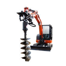 Tractor auger drilling machine earth drill for earth auger