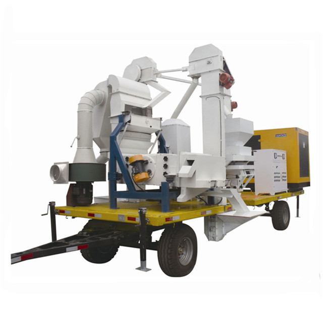mobile seed cleaning plant