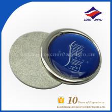 Plaque d'appel en argent personnalisée avec prix d'usine, fabriquée en Chine