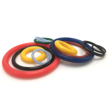 Free Samples Custom Accpeted Different Silicone Colored Rubber O Ring