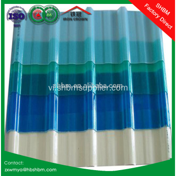 Transparent UV Blocking Mgo lợp tấm