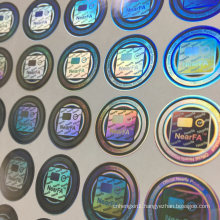 Label Printing Company Laser Anti-Counterfeiting Label Security Hologram Sticker