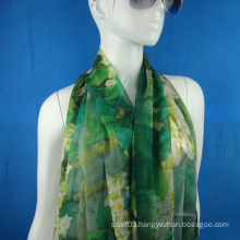 Chiffon Silk Scarf for Lady
