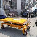 Transpalette manuel hydraulique à levée de ciseaux, 700 kg