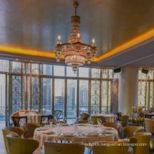 Restaurant plating pendant for led ceiling light