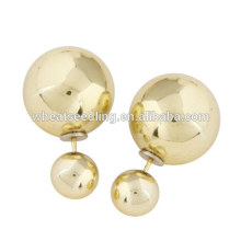 2016 Yiwu new style fashion jewelry earring with ball factory china