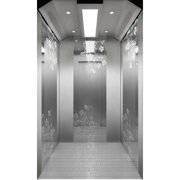 Machine Room Passenger Elevator SS Car
