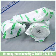 Medical plaster of paris bandage for the fracture