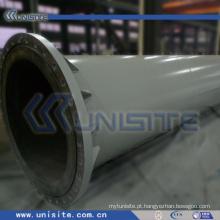 Tubo estrutural de aço draga com flanges (USC-4-014)