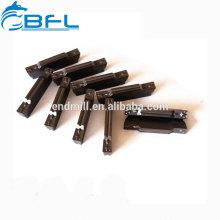Insertos de fresado indexables de carburo BFL, insertos de herramienta de corte para maquinado en bruto