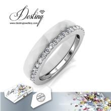 Destiny Jewellery Crystals From Swarovski Combination Ring