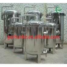 Réservoir de filtre à eau industriel d'acier inoxydable