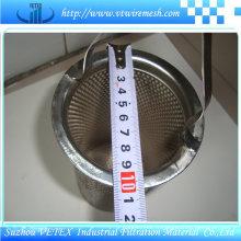 SUS 316 Vetex Filtre Cylindre