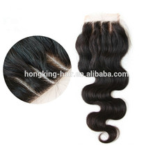 China supplier 100 human hair virgin hair silk base hair closure customize different size different type