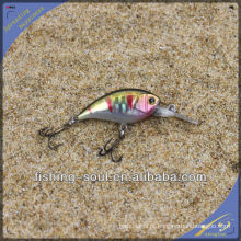 CKL013 7 CM 4.5G Perfeito Qualidade Artesanal Isca Crank Bait Isca De Pesca