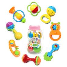 Feeder Botle Verpackung 8 Stück Kunststoff Kinder Spielzeug Set Babyrassel (10214092)
