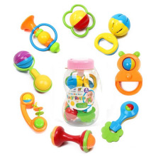Feeder Botle Packing 8 piezas de plástico Kids Toy Set Baby Rattle (10214092)