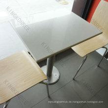 Beliebte feste Oberfläche Kantine Tische und Stühle