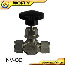 6000PSI stainless steel needle valve micro metering valve