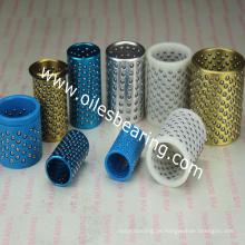Kupfer Aluminium POM Fanglager, Stahlkäfig Buchse, OEM Kunststoff Käfig Buchse für Schimmel, Maschine