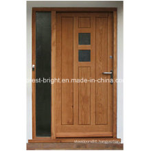 Traditional Style Solid Oak Front Door for Sale