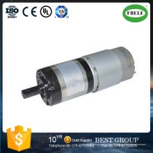Moteur de réduction de vitesse de moteur à faible bruit, moteur de CC de 12 V, mini moteur micro, moteur de brosse de carbone, moteur de vitesse