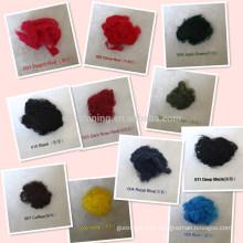 Viskose-Stapelfaser dotiert gefärbt