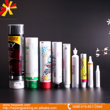 diameter 13 to 50 series full capacity aluminum cosmetic tube