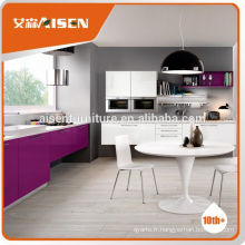 Advanced Germany machines factory directement angled kitchen cabinets