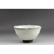 Export au Japon White and Gray Matcha Sugar Bowl