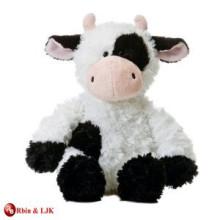 Diseño personalizado de OEM vaca rellena de peluche