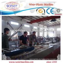 Banco panel/tablero del WPC que hace la máquina
