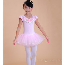 Fashion children frocks designs, lace baby girl ballet dress, baby toddler costumes