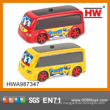 Funny small plastic toy car toys for kids plastic toy mini bus