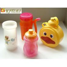 Beste verkaufende kundenspezifische Einspritzungs-PET-pp. Flasche 500ml Plastikprodukte