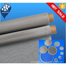Fino metal 304 filtro de aço inoxidável tela de malha / 10 micron filtro de disco / malha de arame